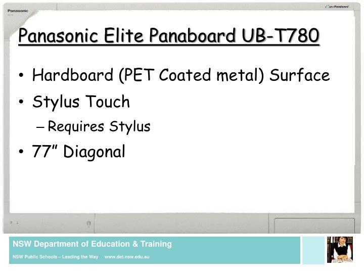 Panasonic Elite Panaboard UB-T780