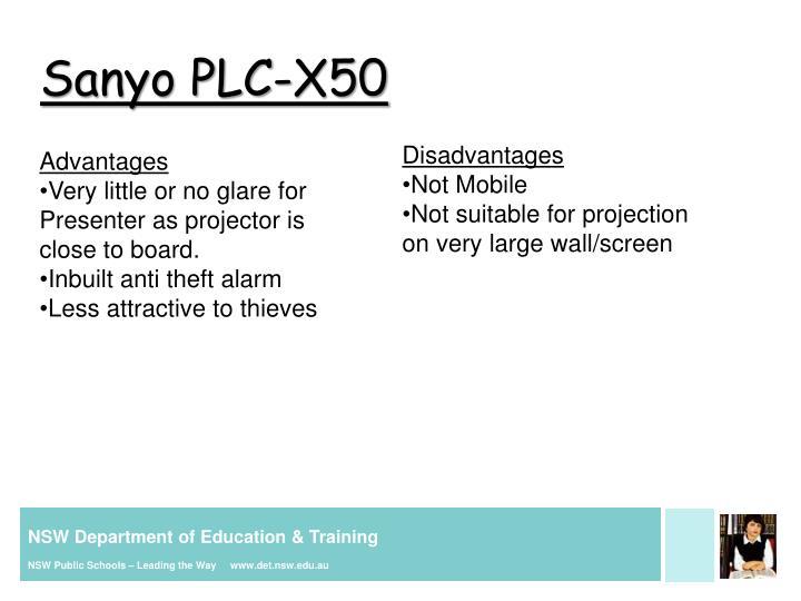 Sanyo PLC-X50