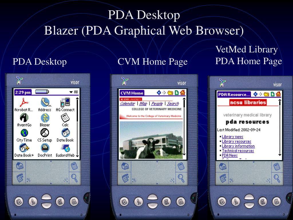 PDA Desktop