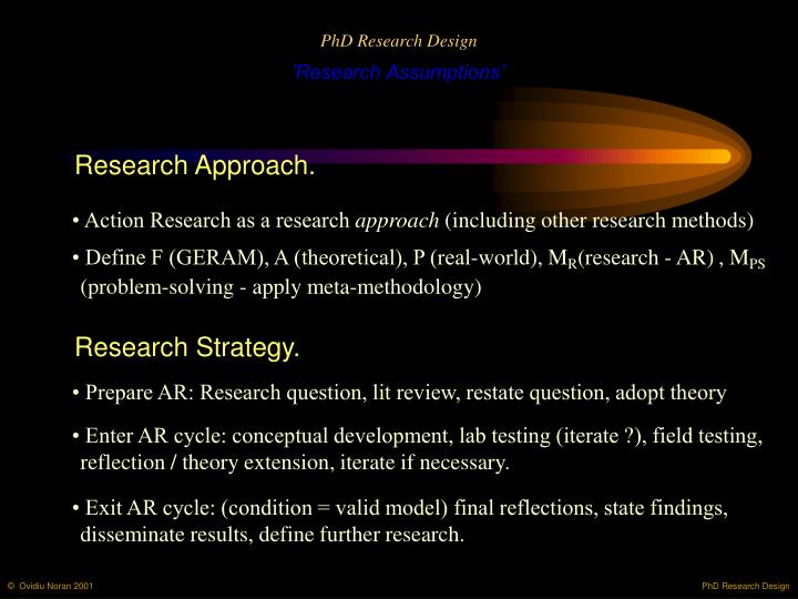PhD Research Design