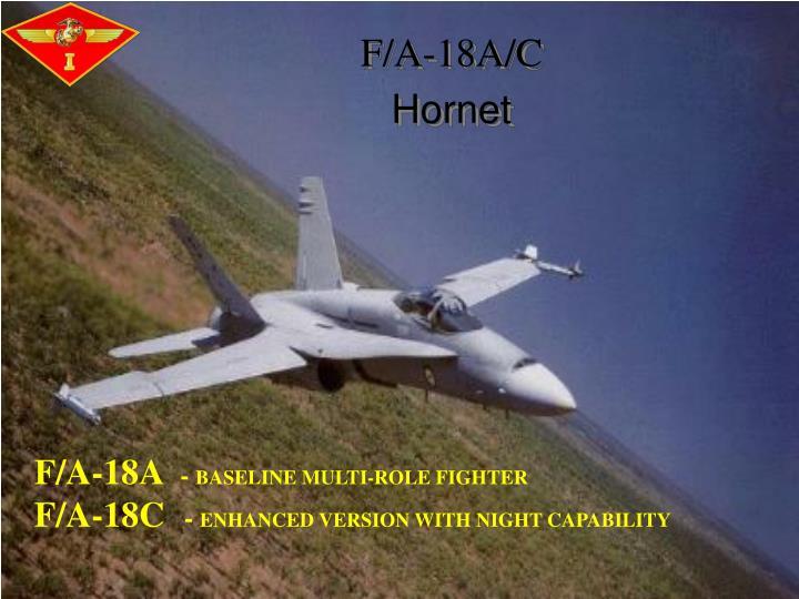 F/A-18A/C