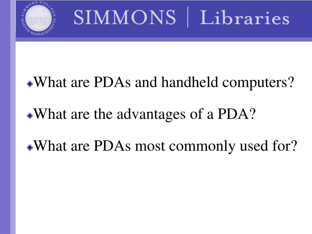 What are PDAs and handheld computers?