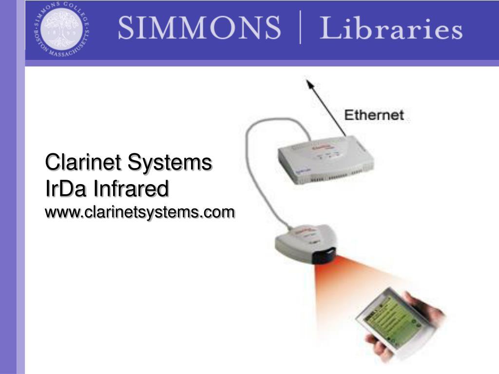 Clarinet Systems