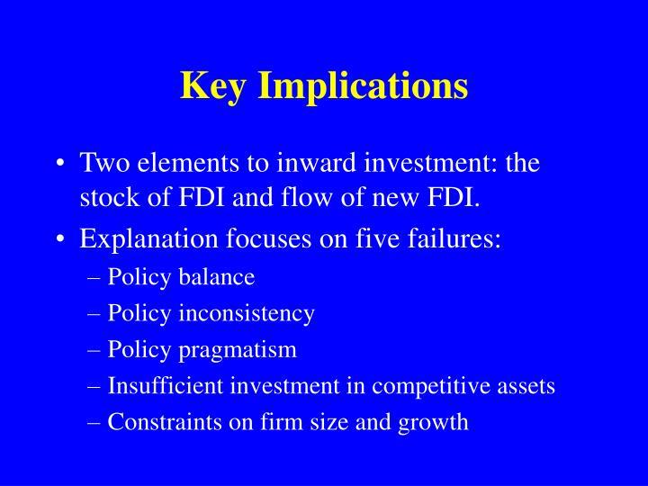 Key Implications