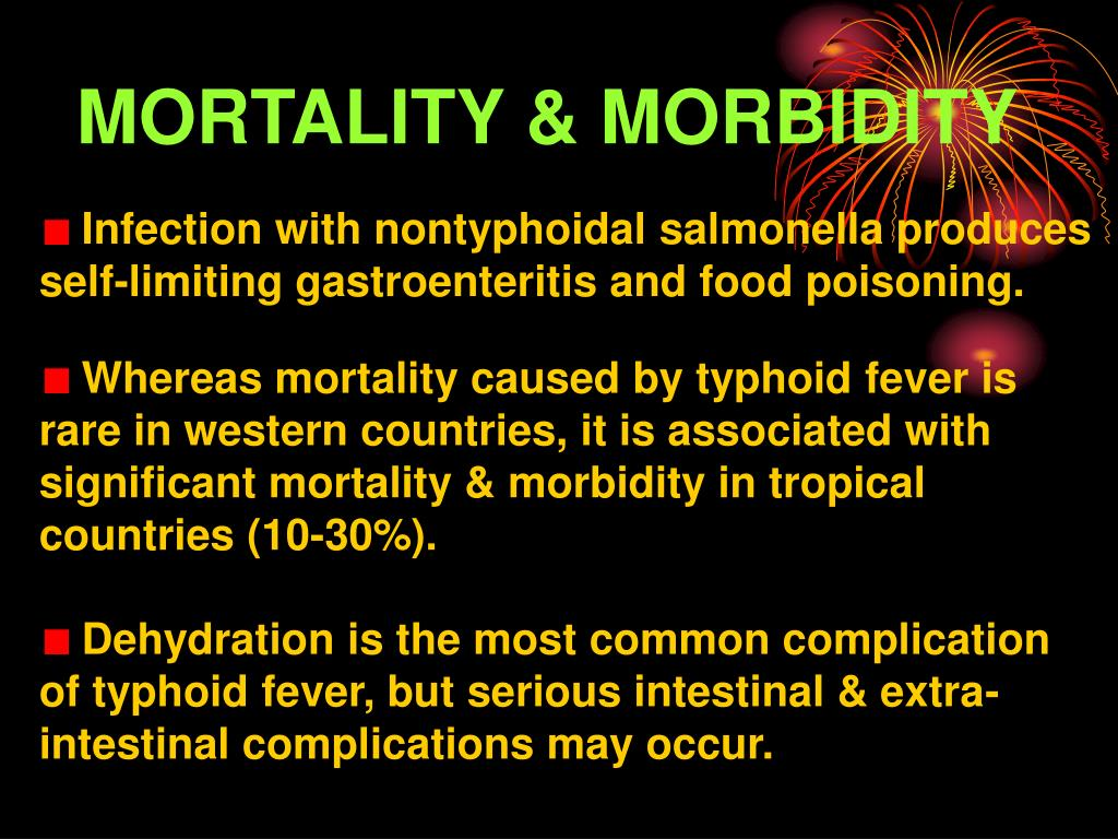 MORTALITY & MORBIDITY
