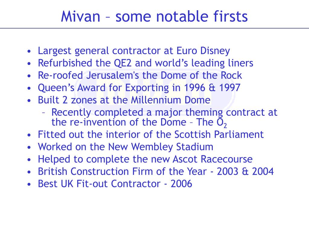 Largest general contractor at Euro Disney