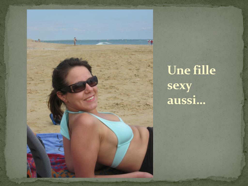Une fille sexy