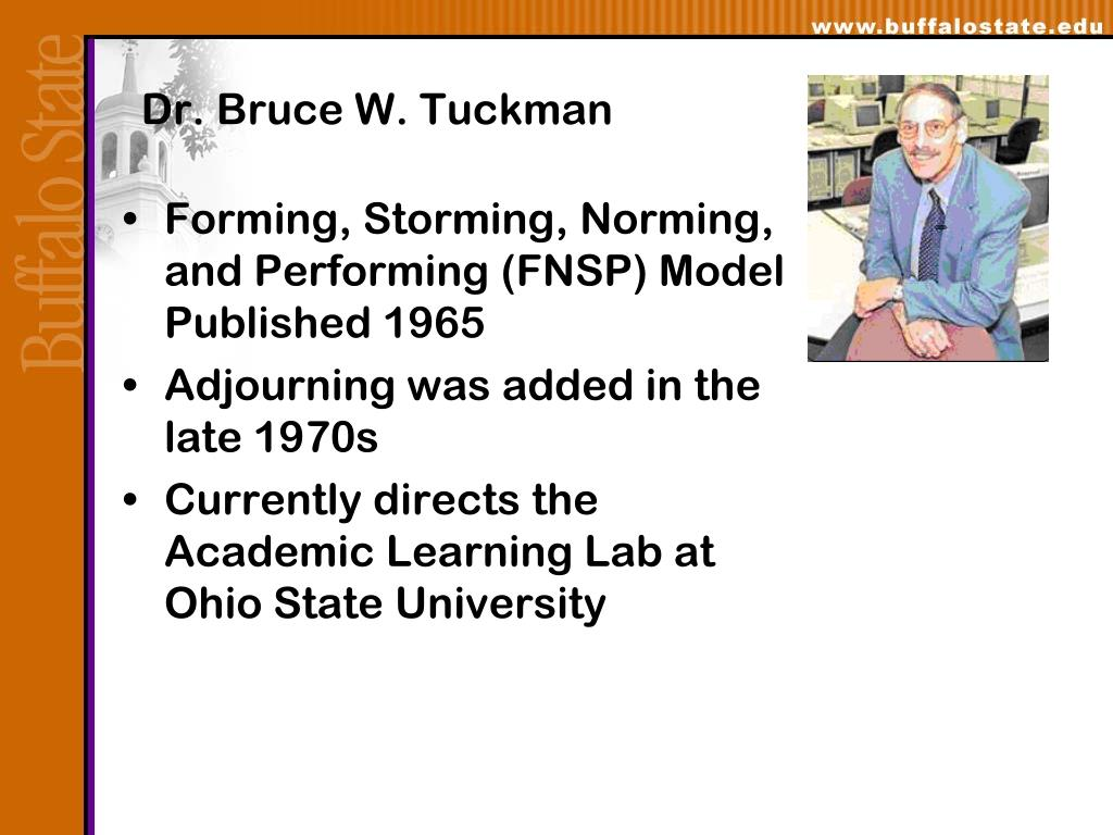 Dr. Bruce W. Tuckman