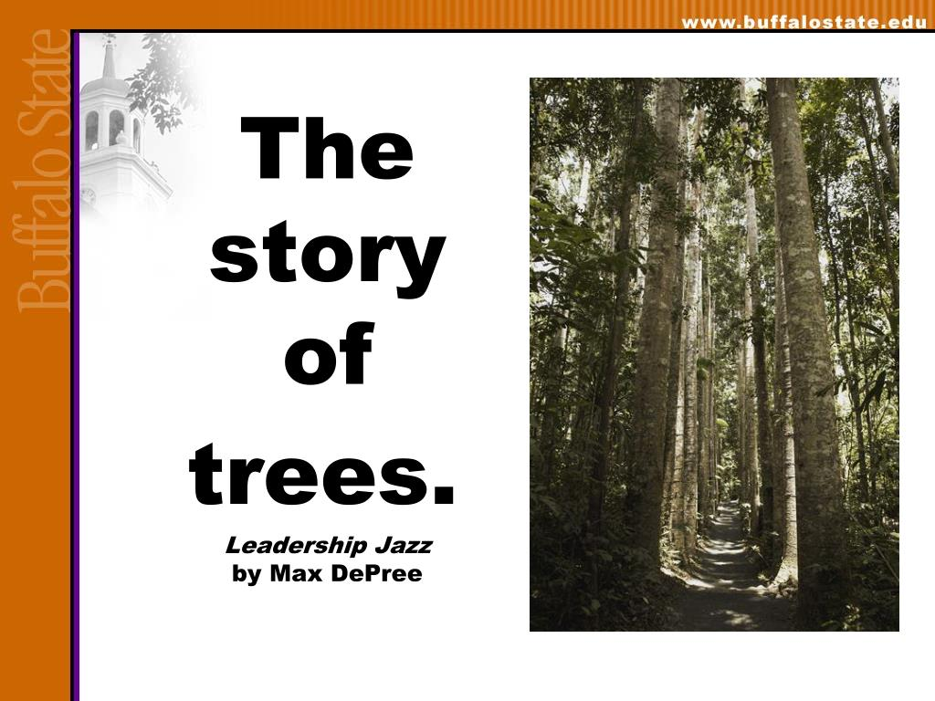 The story of trees.