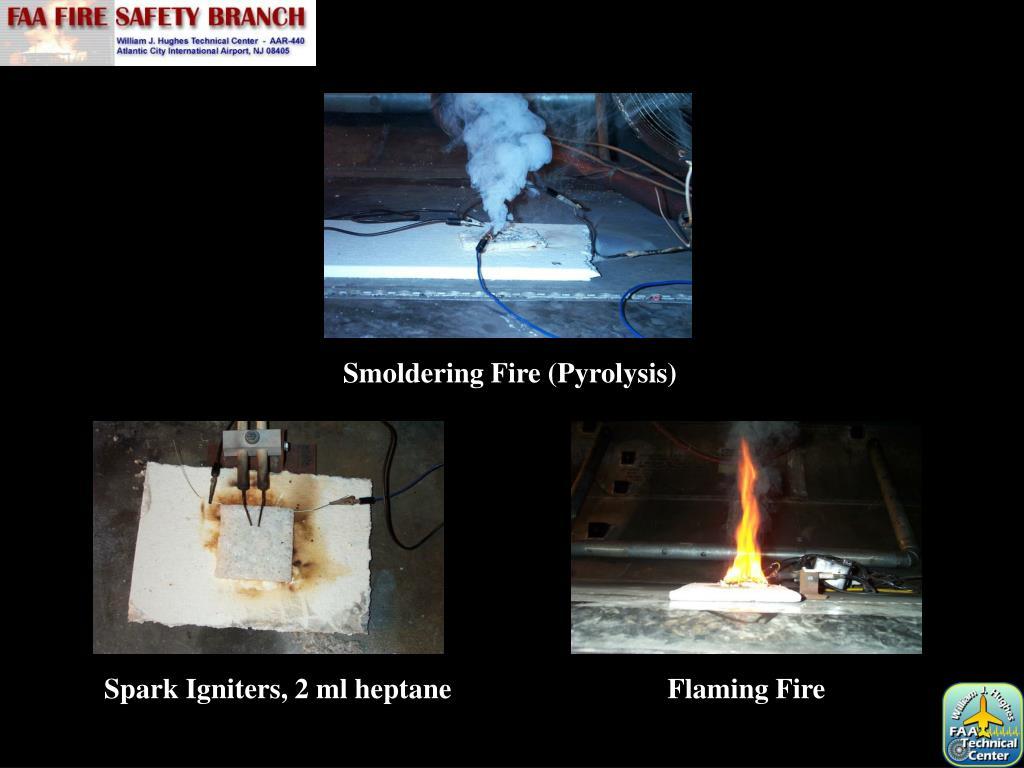 Smoldering Fire (Pyrolysis)