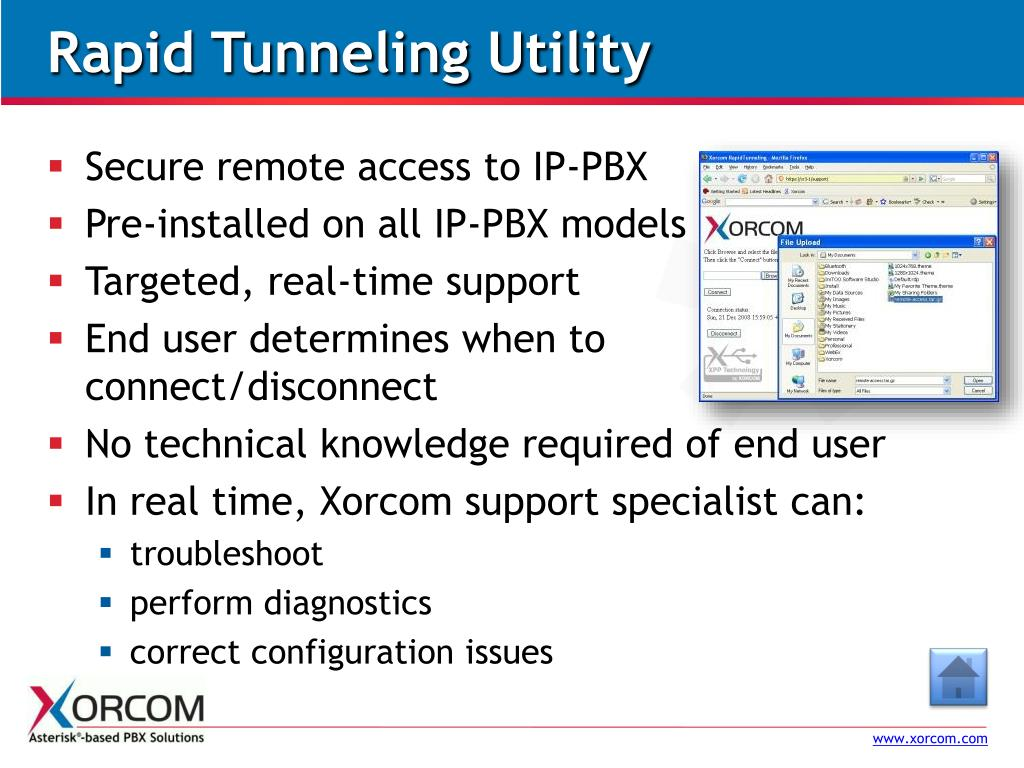 Rapid Tunneling Utility