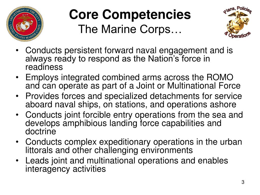 PPT - MARINE CORPS SERVICE CAMPAIGN PLAN (MCSCP) 2009-2015 ...