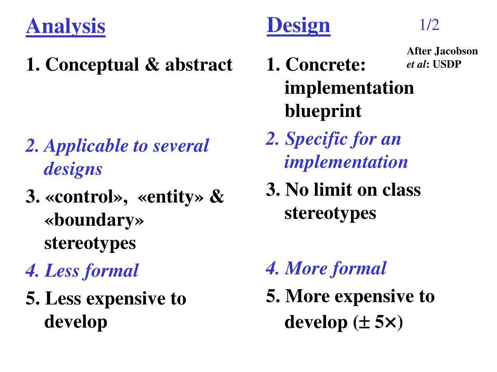 1. Conceptual & abstract