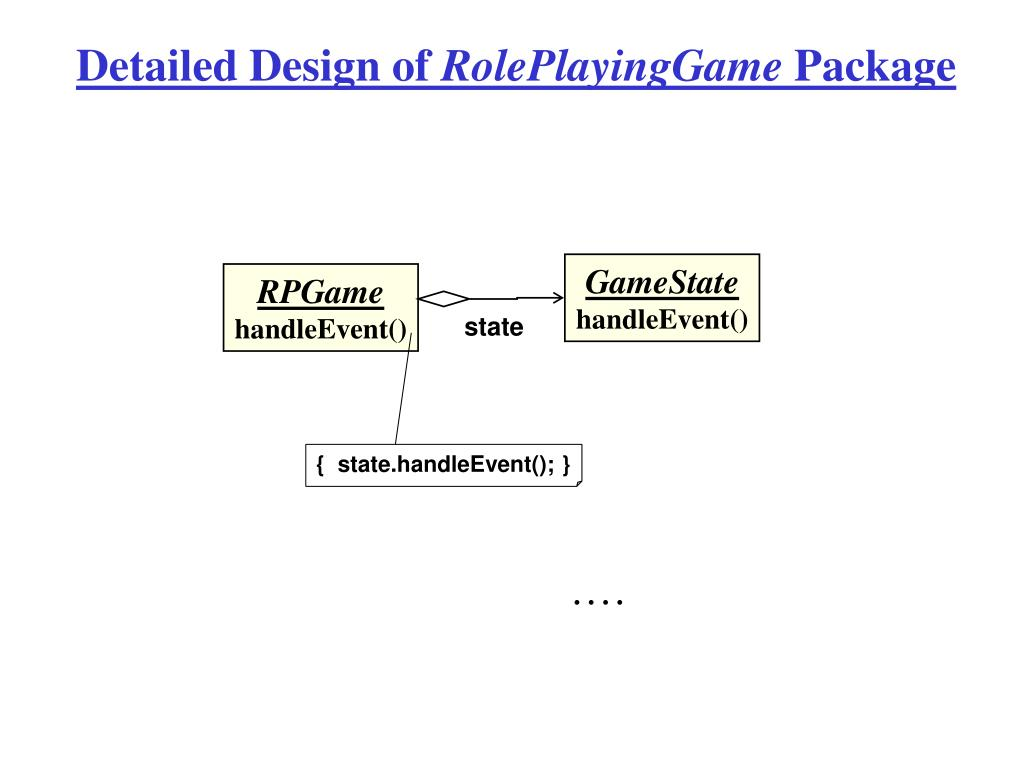 Detailed Design of