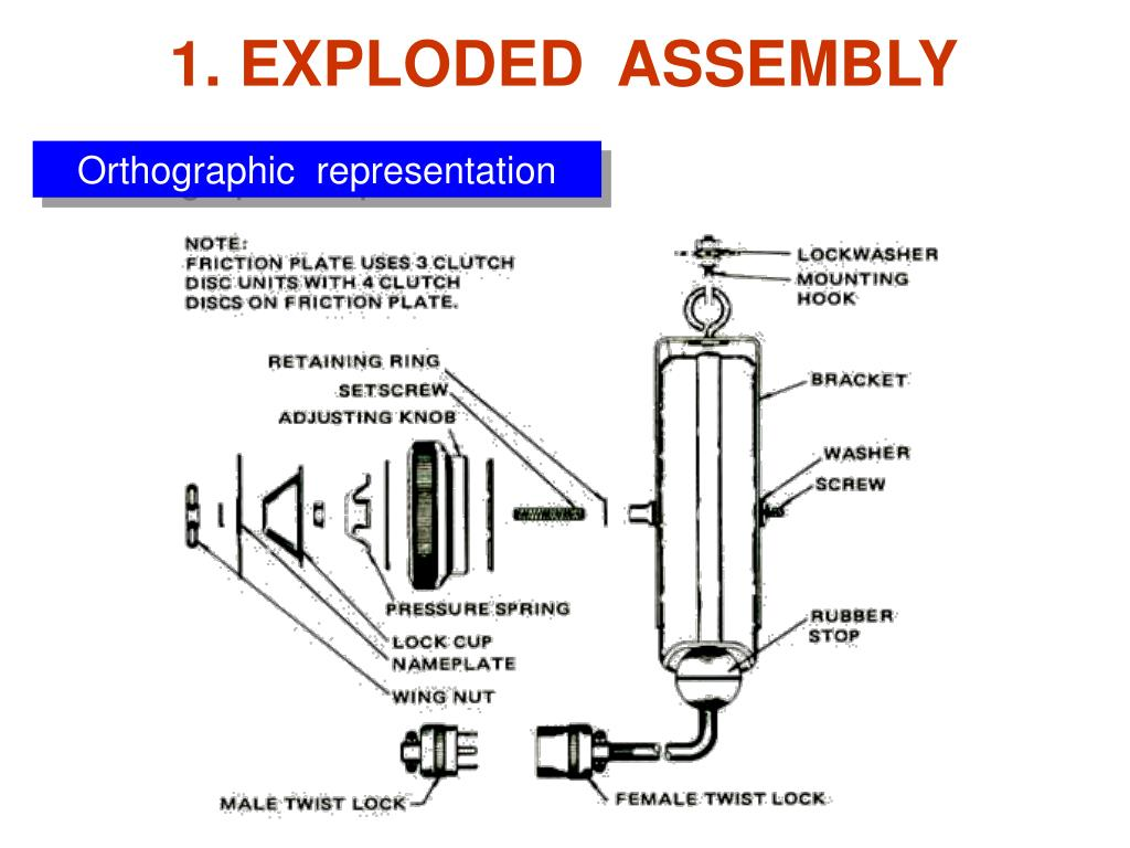 1. EXPLODED  ASSEMBLY