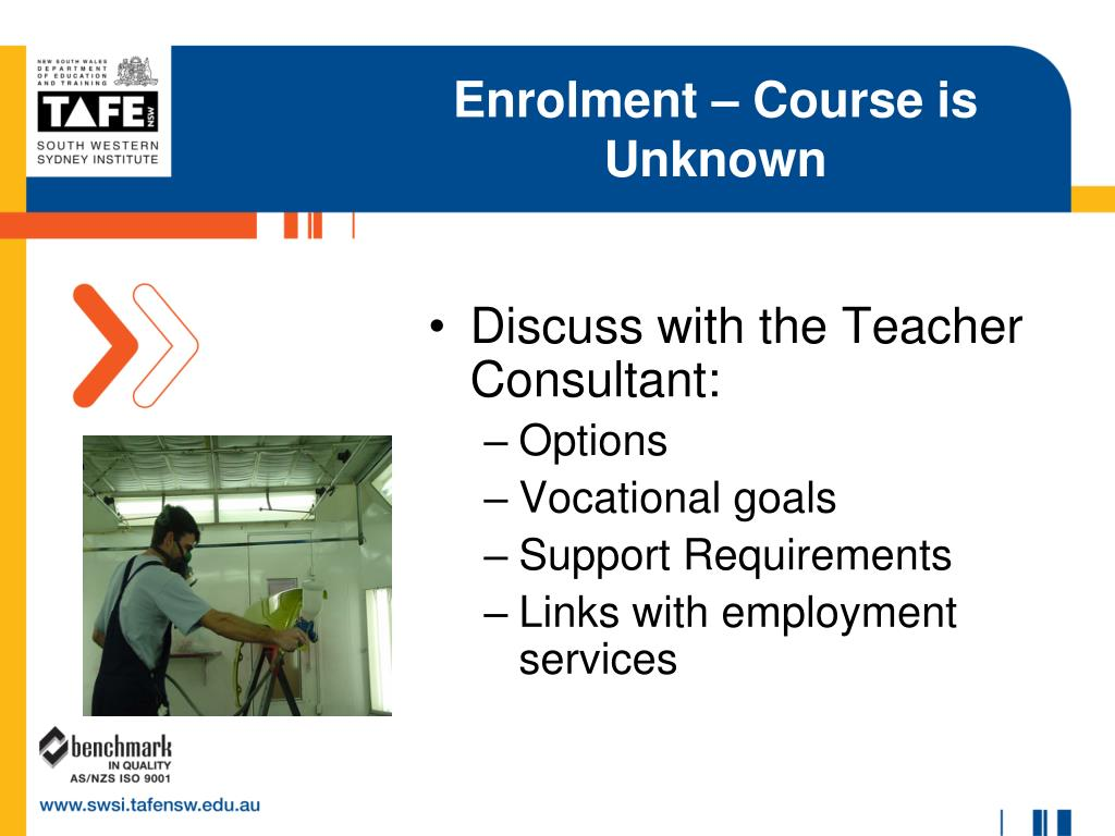 Enrolment – Course is Unknown