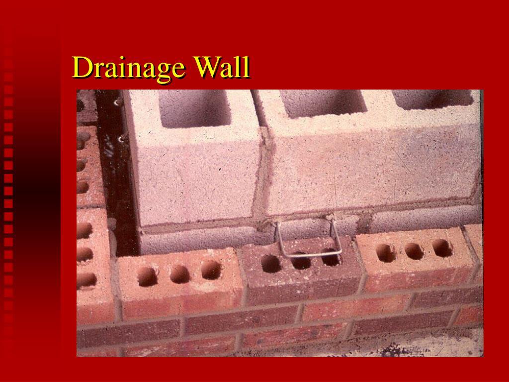 Drainage Wall