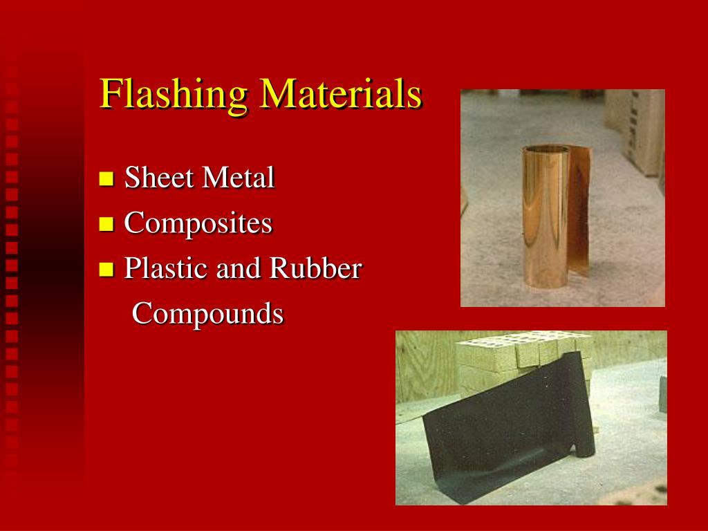 Flashing Materials