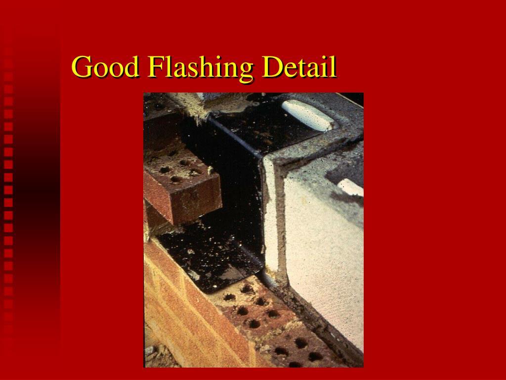 Good Flashing Detail