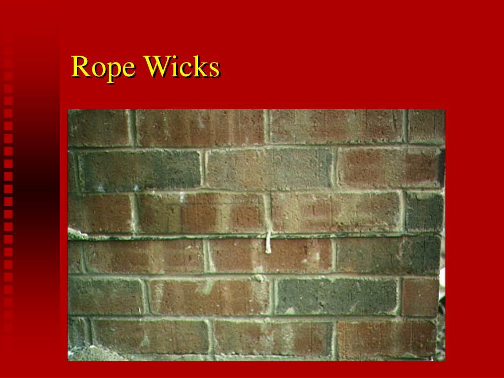 Rope Wicks