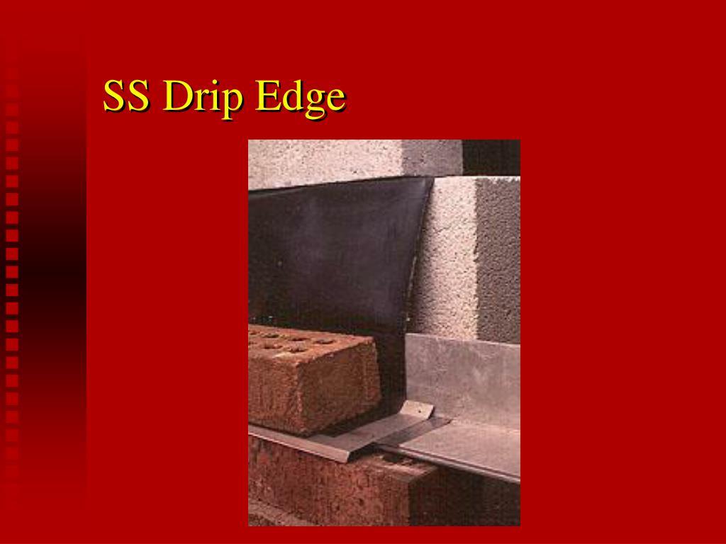 SS Drip Edge