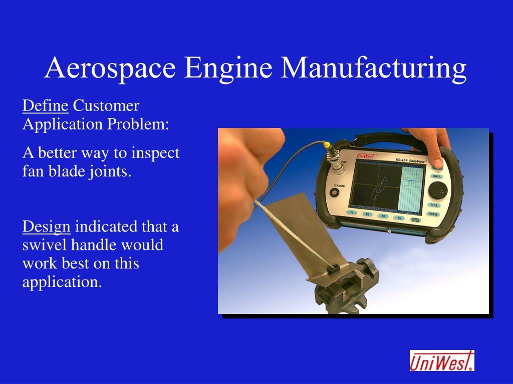 Aerospace Engine Manufacturing