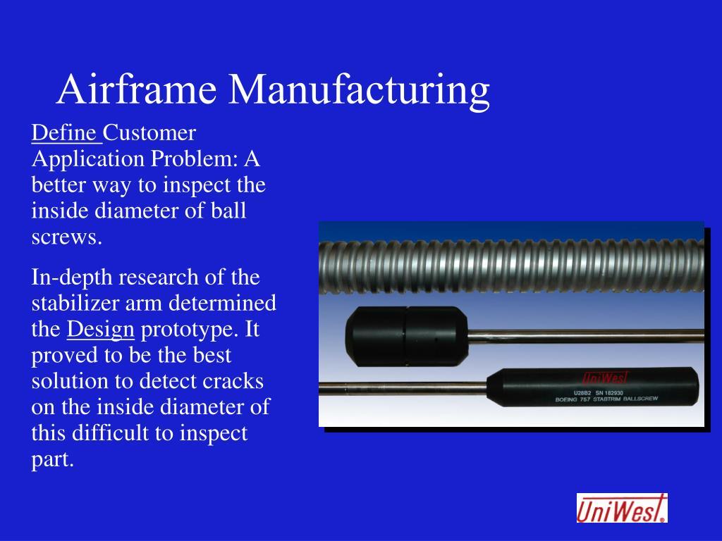 Airframe Manufacturing