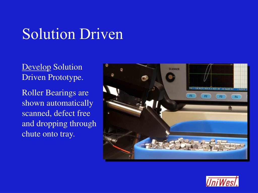 Solution Driven