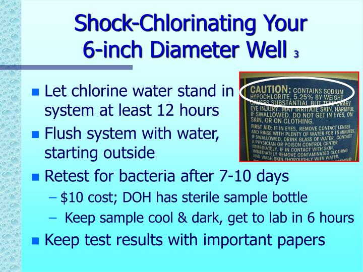 Shock-Chlorinating Your
