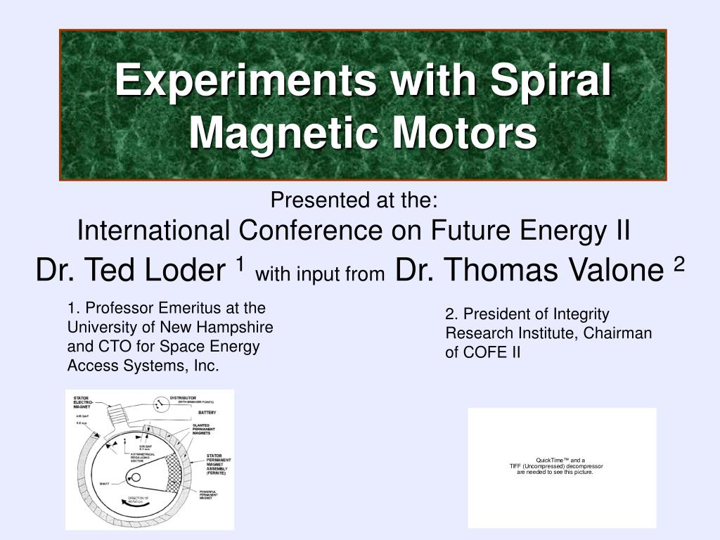 Experiments with Spiral Magnetic Motors