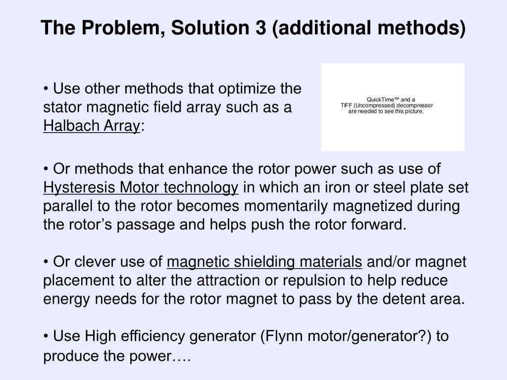 The Problem, Solution 3 (additional methods)