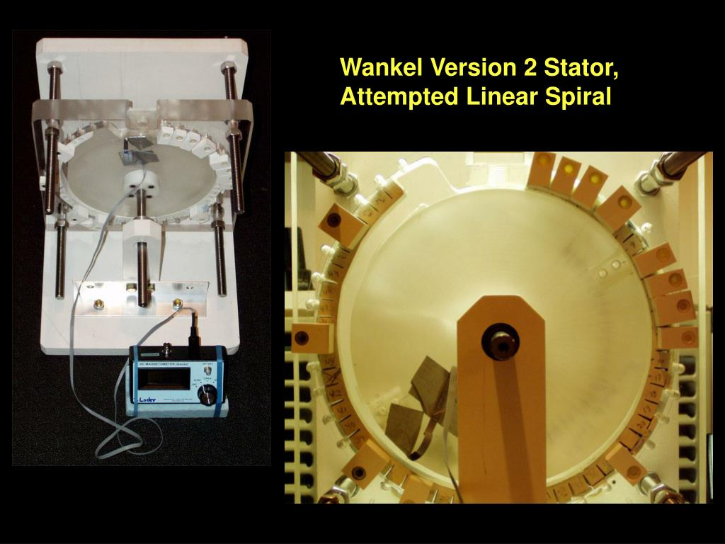 Wankel Version 2 Stator, Attempted Linear Spiral