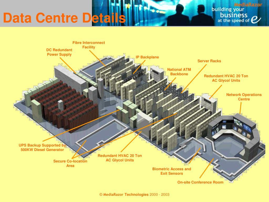 Data Centre Details