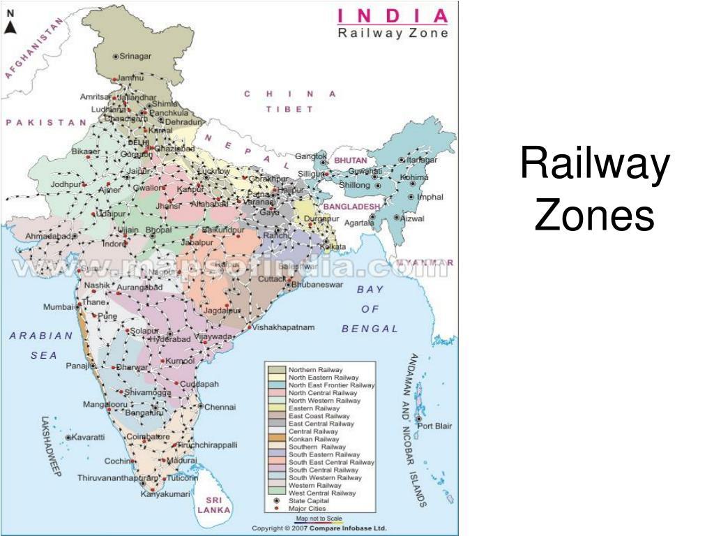 Railway Zones