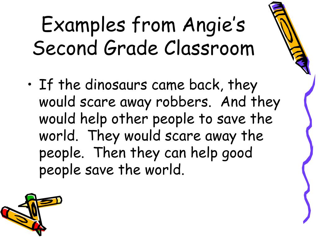 Examples from Angie's Second Grade Classroom