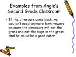examples from angie s second grade classroom12
