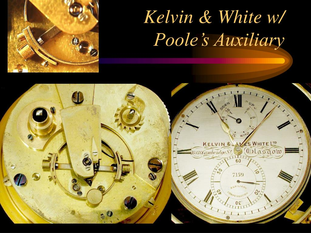 Kelvin & White w/ Poole's Auxiliary