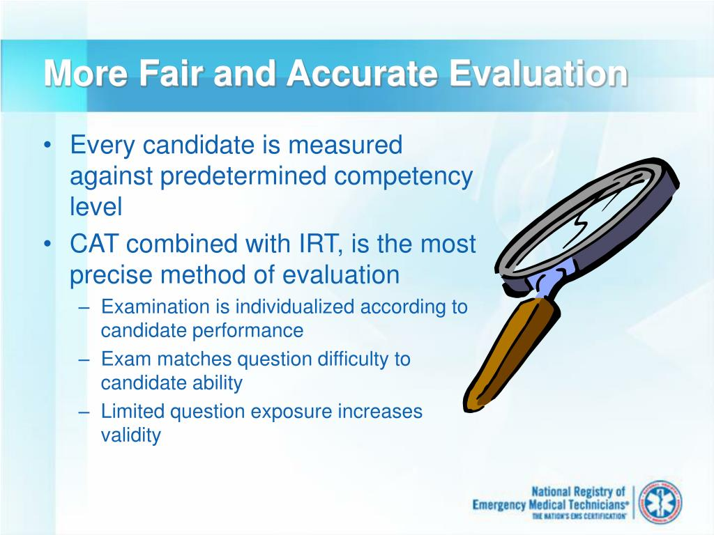 More Fair and Accurate Evaluation