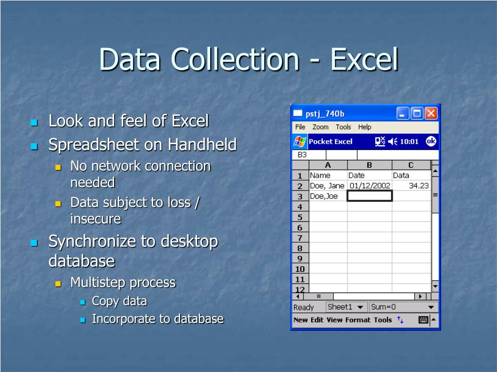 Data Collection - Excel