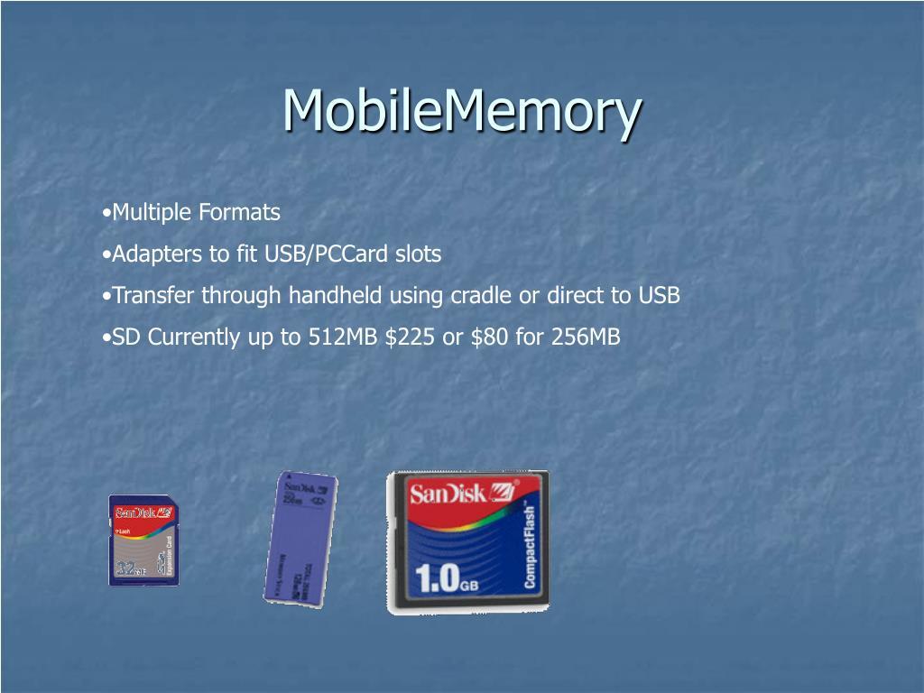 MobileMemory