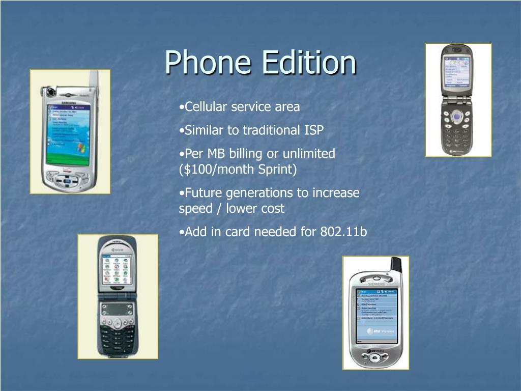 Phone Edition