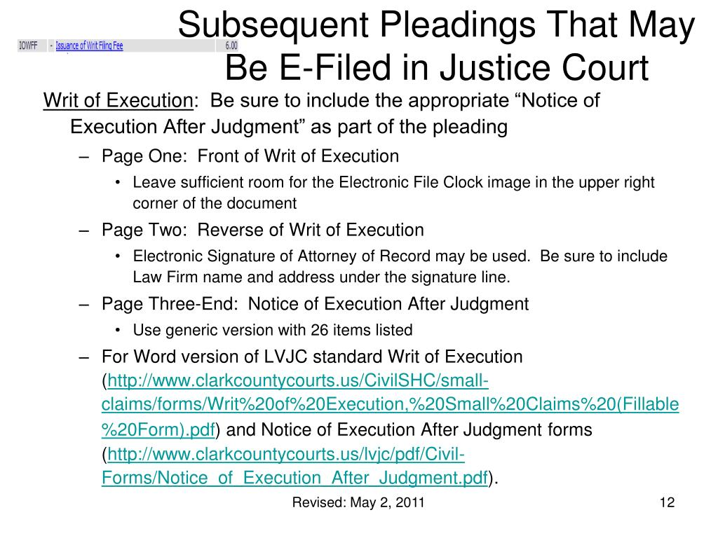 Subsequent Pleadings That May