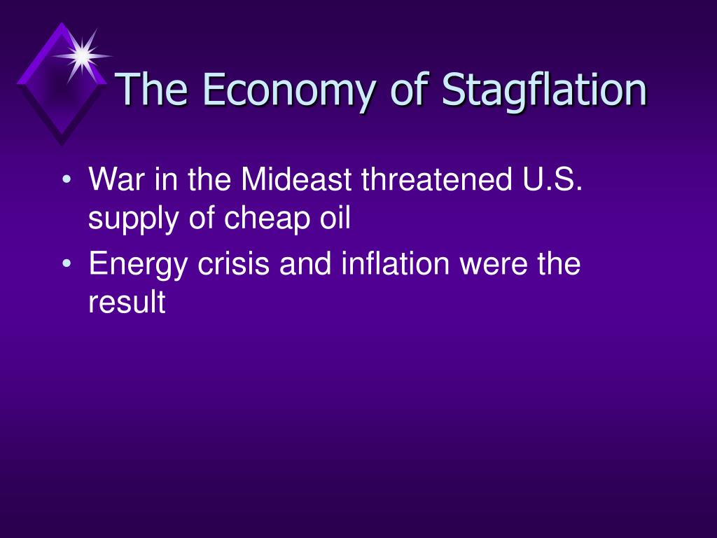 The Economy of Stagflation