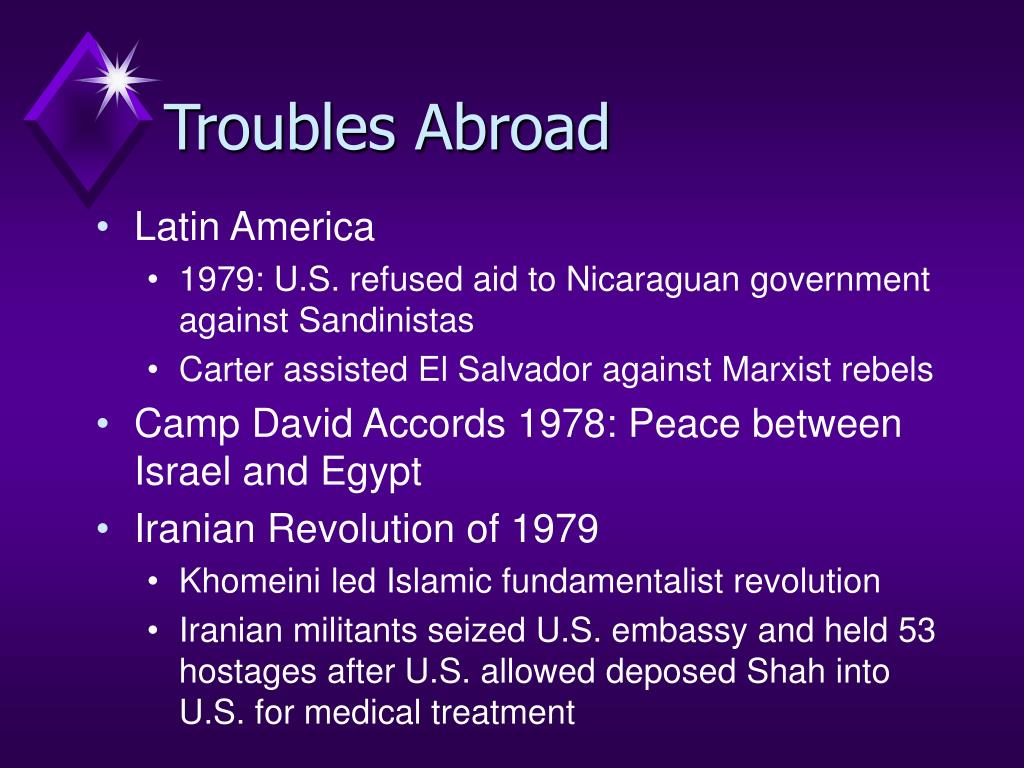 Troubles Abroad
