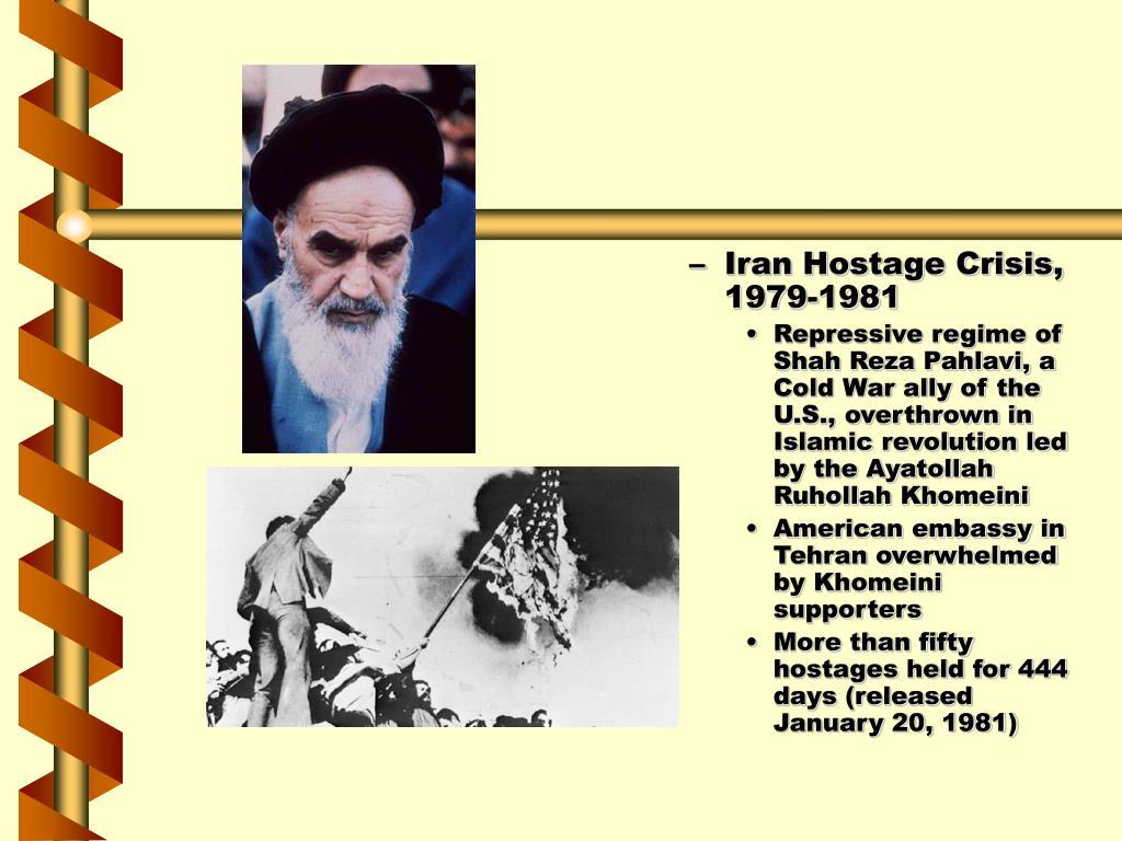 Iran Hostage Crisis, 1979-1981