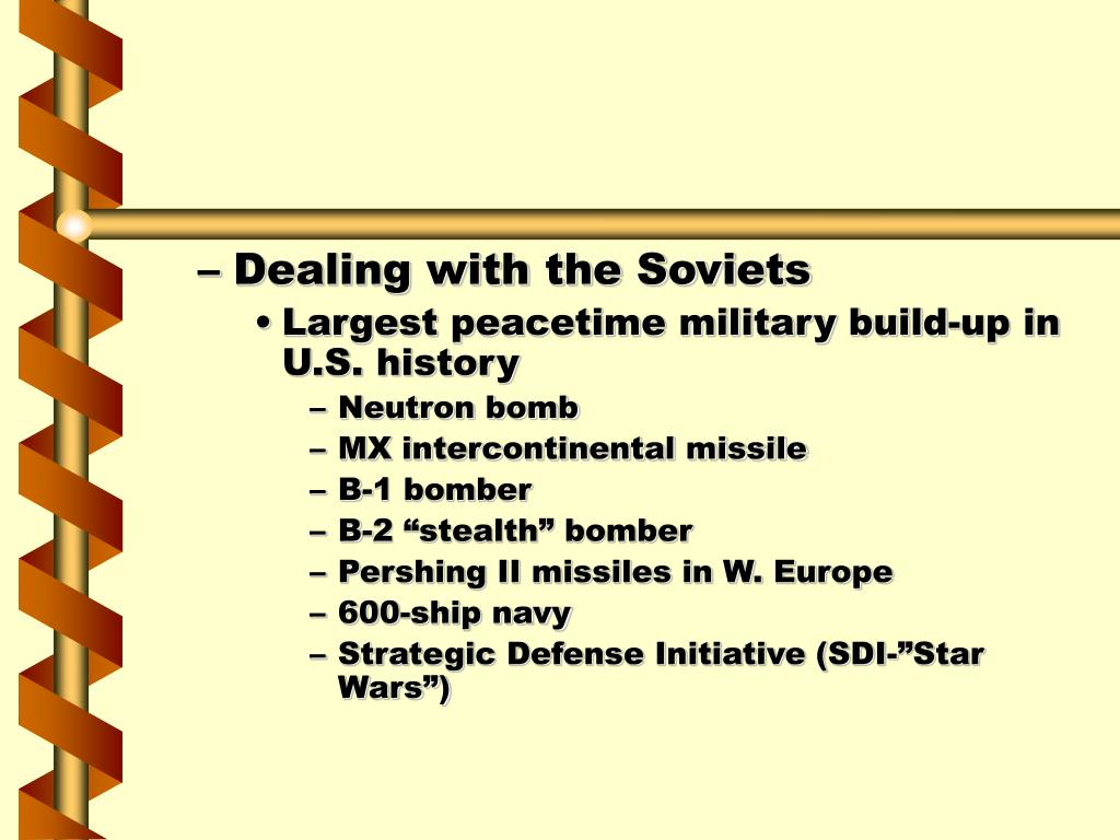 Dealing with the Soviets