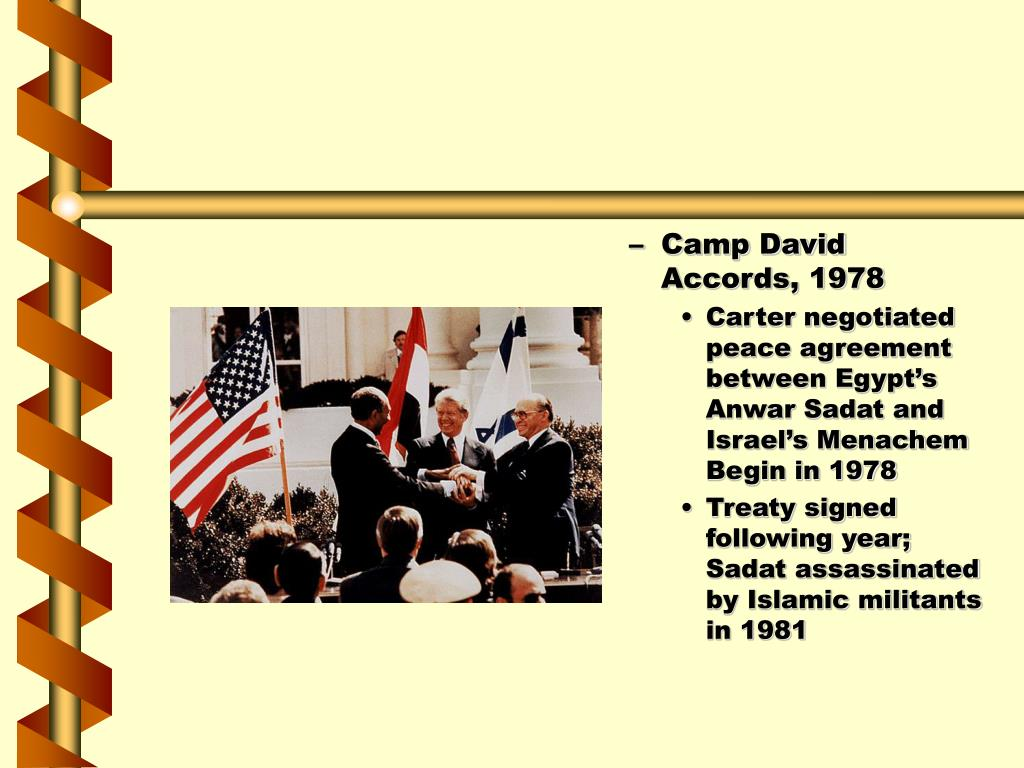 Camp David Accords, 1978