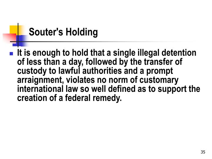 Souter's Holding