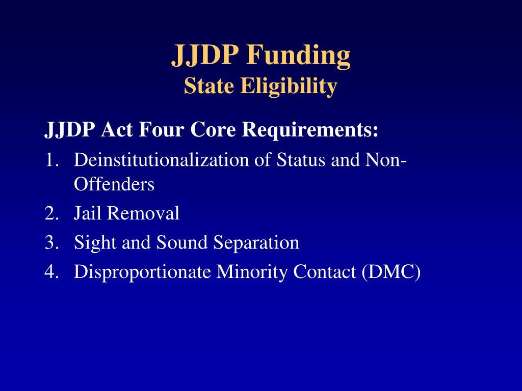 JJDP Funding