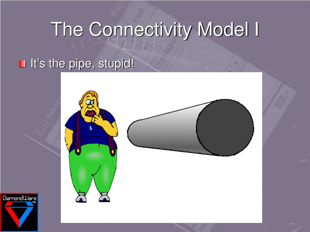 The Connectivity Model I